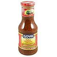 Goya Hot Salsa Taquera Classic Mexican Taco Sauce 17.6 Oz. Pk Of 3.