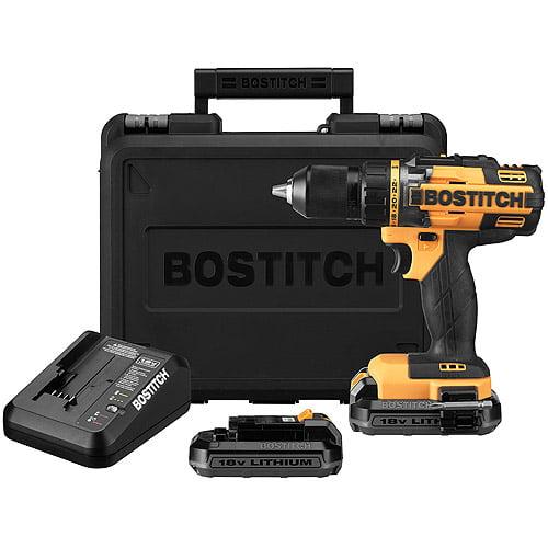 "Bostitch 18V Lithium 1/2"" Drill/Driver Kit, BTC400LB"