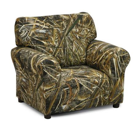 Kidz World Camouflage Club Chair