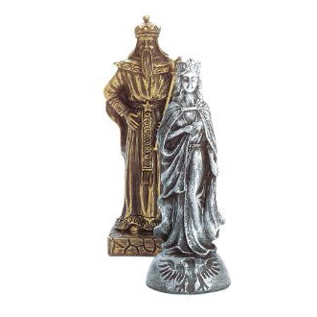 Eastwind Gifts 35301 Medieval Knights Chess Set (Medieval Chess Set)