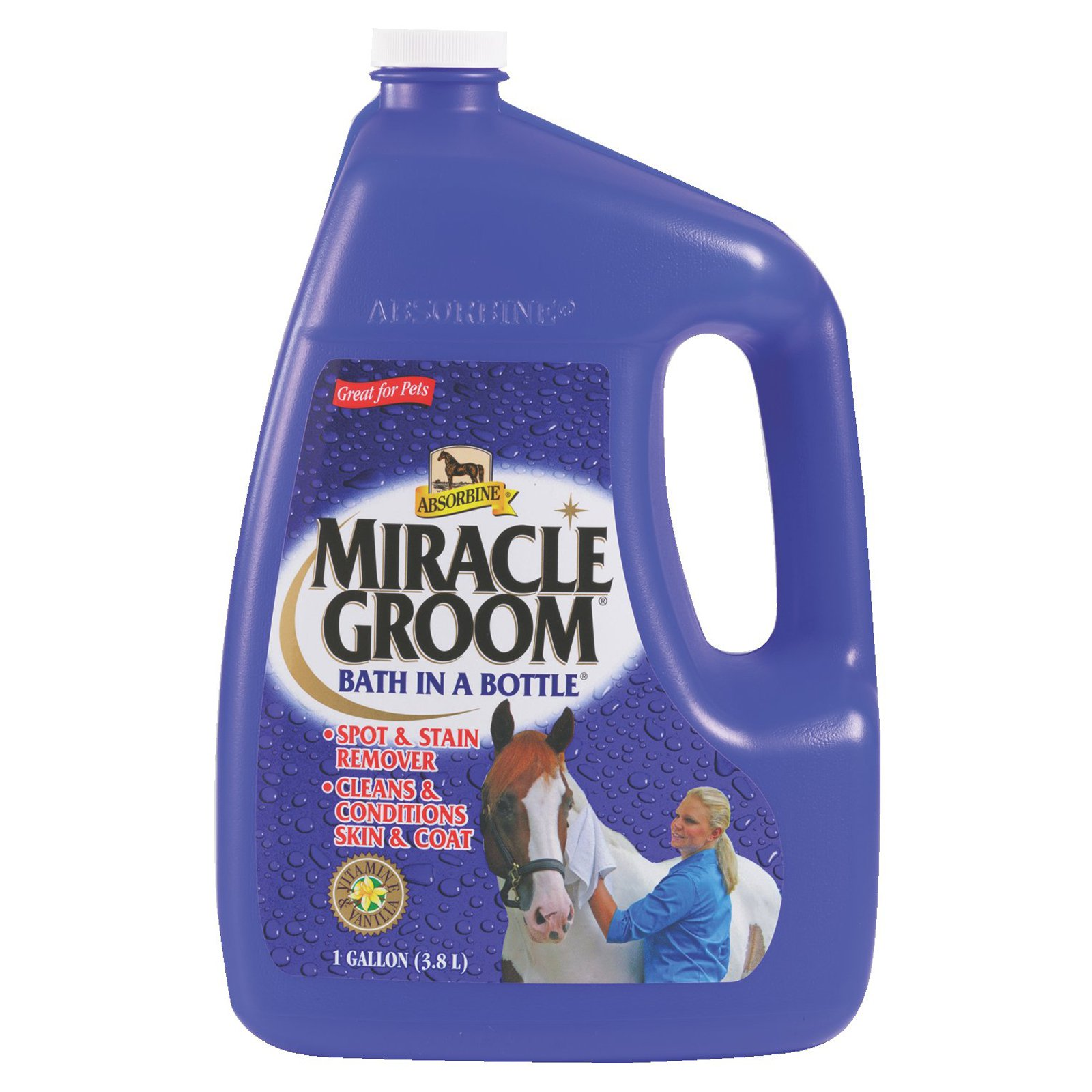 W F Young Absorbine Miracle Groom Bottle