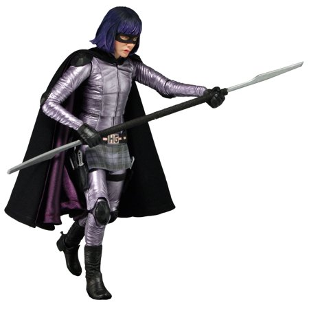 Kick Ass 2 - Hit Girl - 7in Scale Action Figure (Kick Ass And Hit Girl Costumes)