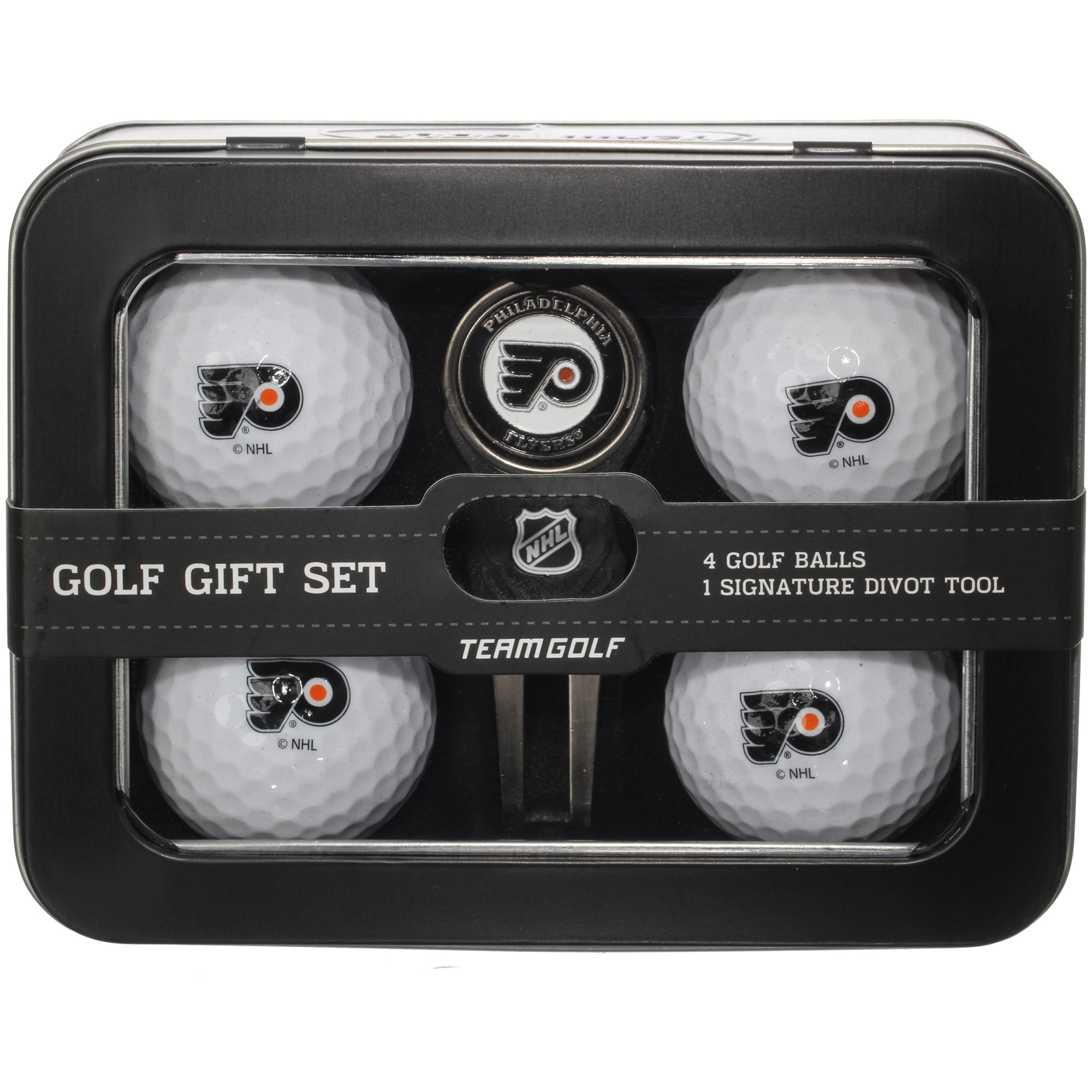 Philadelphia Flyers 2016 4 Golf Ball and Divot Tool Set - No Size
