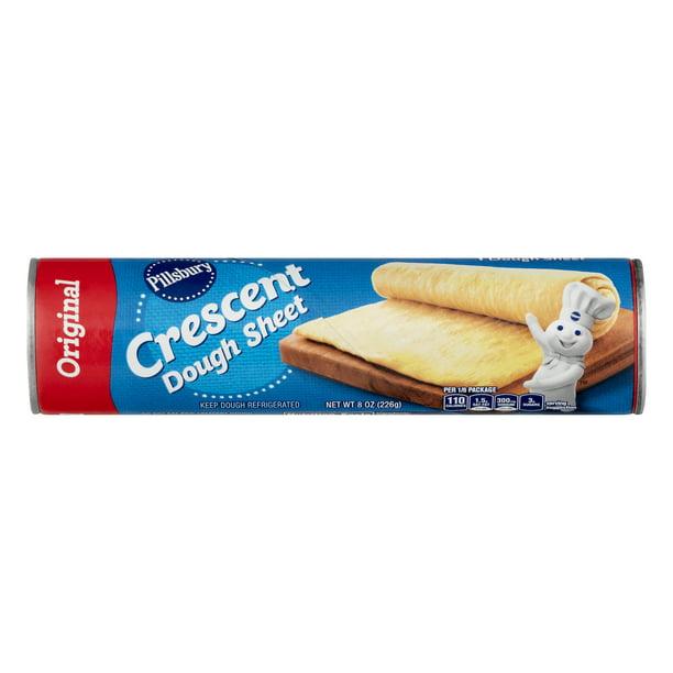 Pillsbury Crescent Dough Sheet 8 Oz Walmart Com Walmart Com