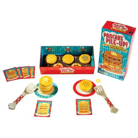 Educational Insights 1499150 Game Pancake Pile-Up Relay Race Grade Pre-K Plus - Relay Games