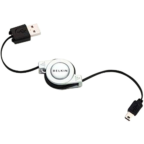 Belkin F3U138V03-RTC USB 2.0 Retractable Cable