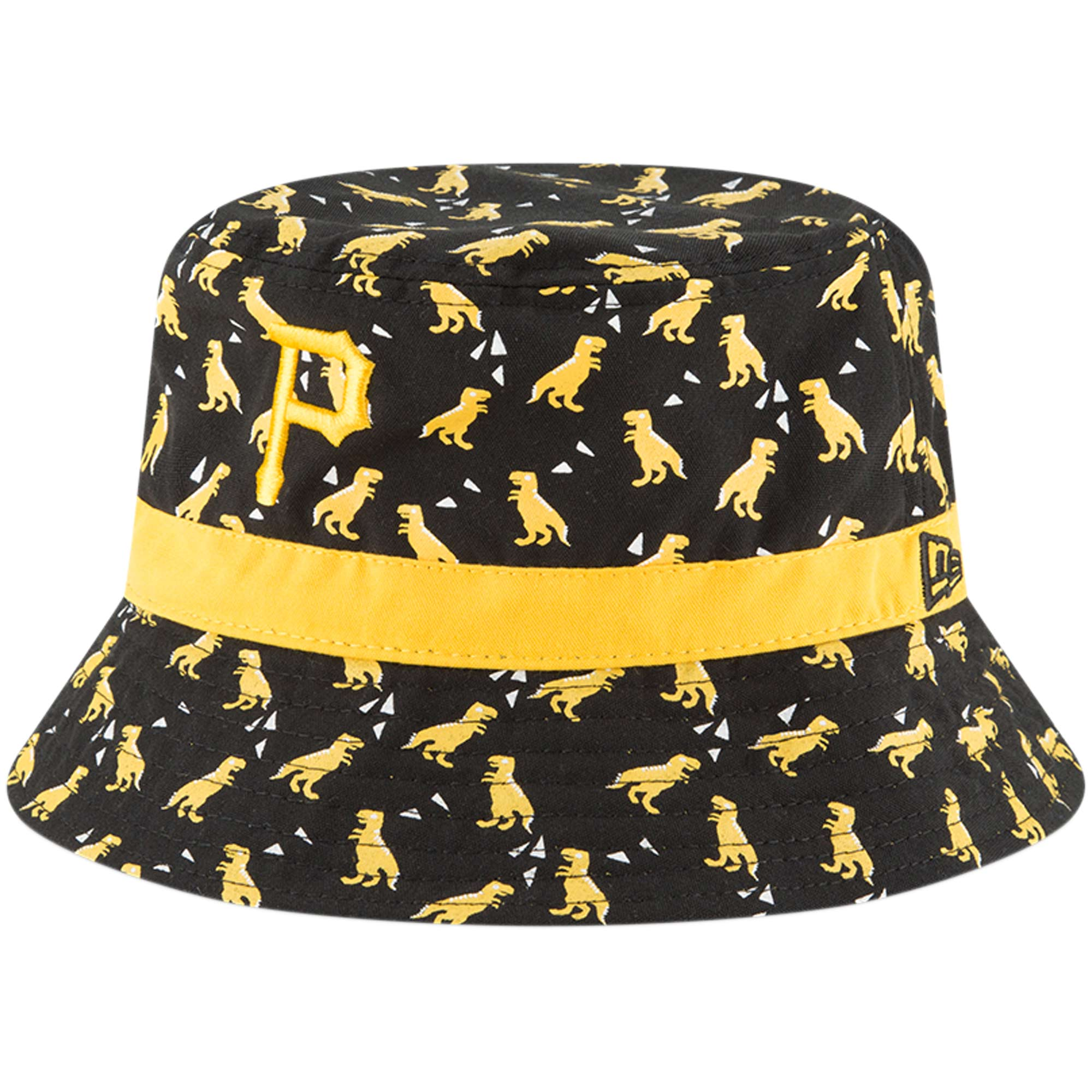 83600a1f4ce Pittsburgh Pirates New Era Infant Dino Bucket Hat - Black - OSFA -  Walmart.com