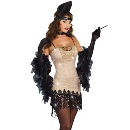 Costumes Online Australia (Fierce Flapper Costume 8832 Dreamgirl Multi)
