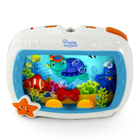 Baby Einstein Sea Dreams Soother Crib Toy with Remote, Lights and