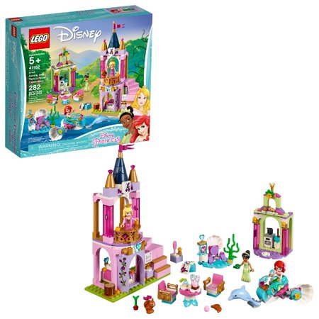 LEGO Disney Princess Ariel, Aurora, and Tiana's Royal Celebration 41162