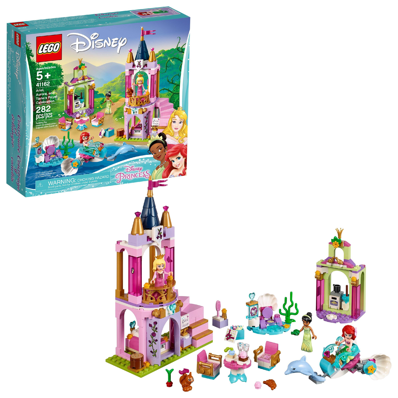 LEGO Disney Princess Ariel, Aurora, and Tiana's Royal Celebra 41162