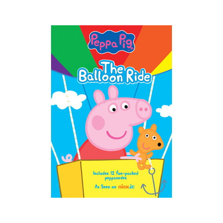 Peppa Pig: The Balloon Ride (DVD) - Peppa Pig Halloween Episodes