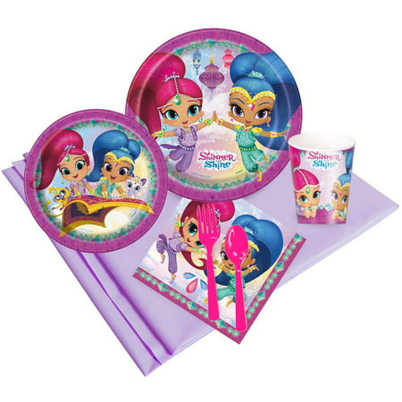 Shimmer and Shine Party Pack for 16 - Shine Party