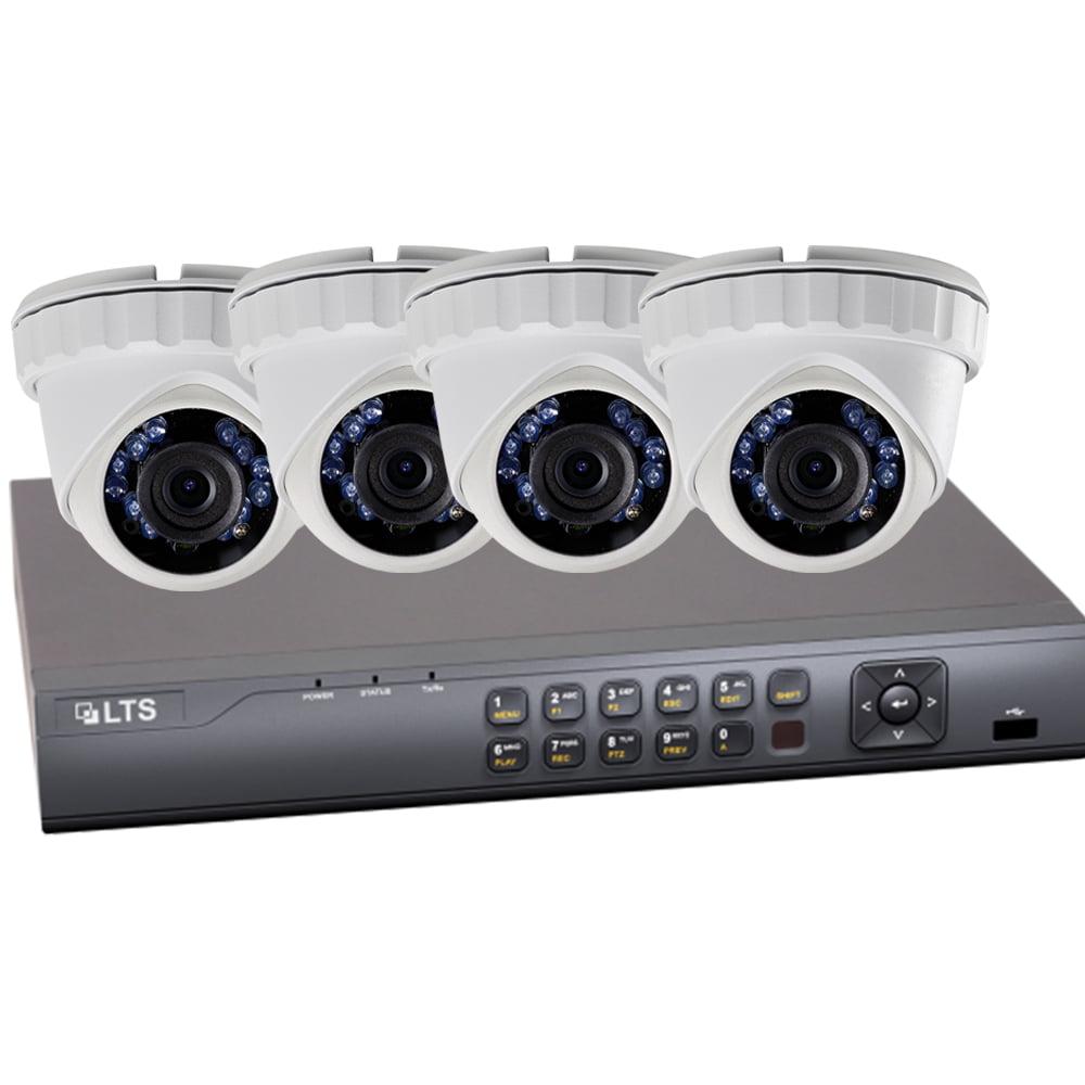 Samsung LTD8304T-FT-1.3-COMBOP 4 Channel HD-TVI DVR - Com...