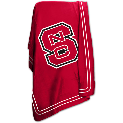 "Logo Chair NCAA North Carolina State 50"" x 60"" Classic Fleece Throw"
