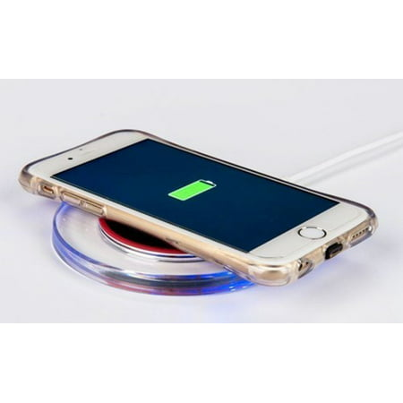 LED Wireless Charging Pad for iPhone and Android- 2 Colors