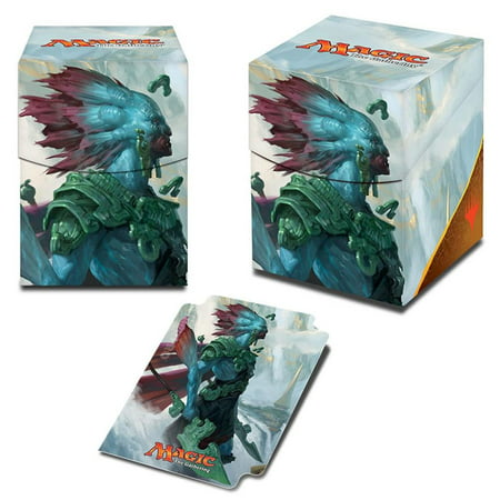 DB: PRO 100+: MtG: RIX: V3 Deck Box - Rivals of Ixalan, Kumena SW Ultra (Ultra Pro Mtg Pro Tower Deck Box)
