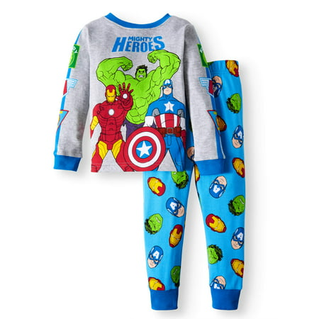Cotton Tight Fit Pajamas, 2-piece Set (Toddler Boys)