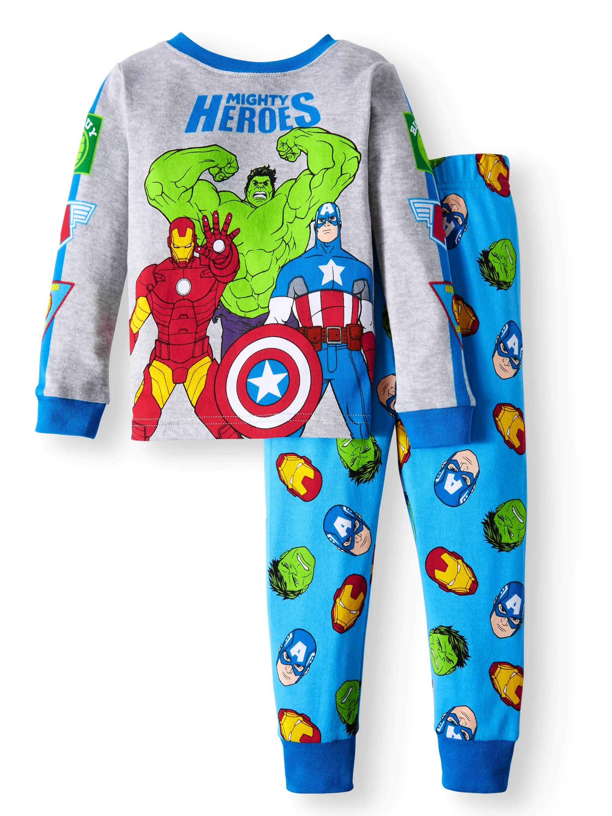 Cotton Tight Fit Pajamas, 2-piece Set (Toddler Boys)