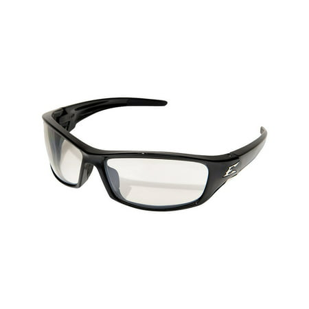 Edge Eyewear Reclus Safety Glasses Clear Anti Reflective Lens Black Fr