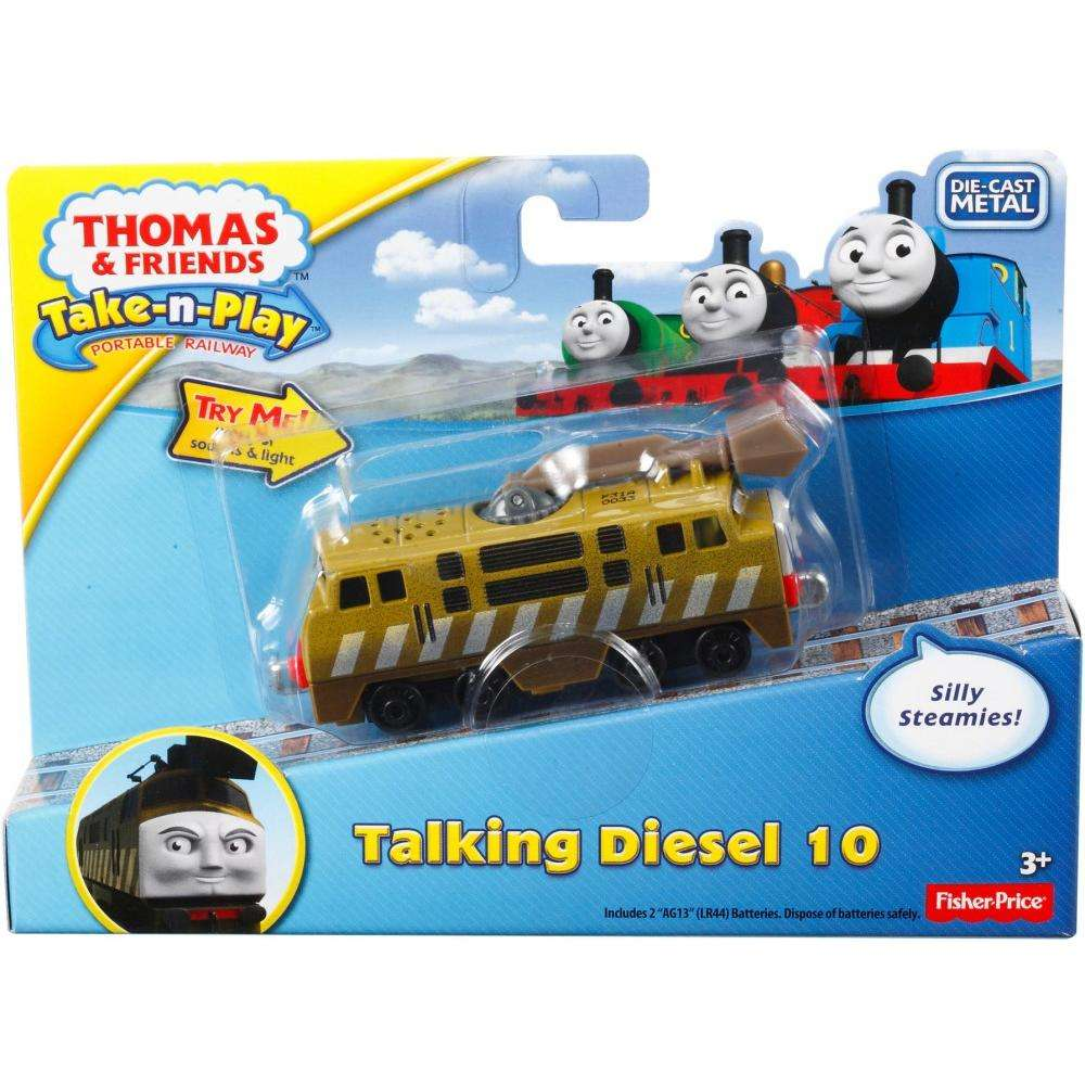 Thomas Train Friends Take N Play DIESEL/'S SPIDER DELIVERY 3 Car set Fisher Price
