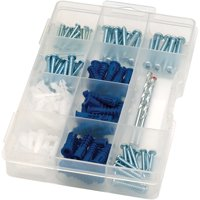 Arrow Drywall Drill Bit, Screw and Anchor Kit