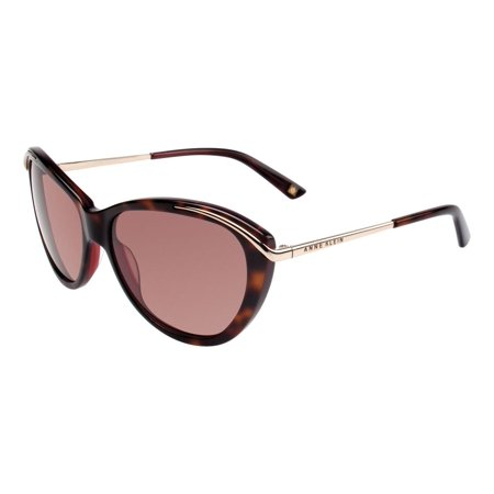 Anne Klein AK7006 Women's Cat-Eye Fashion Sunglasses - Tortoise Burgundy