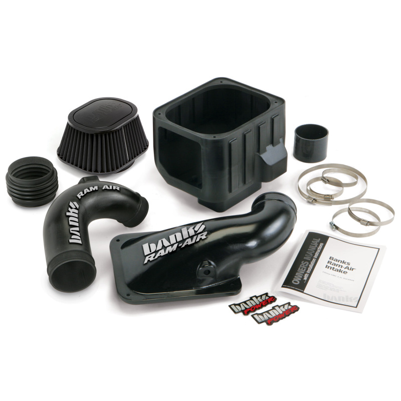 Banks Power 04-05 Chevy 6.6L LLY Ram-Air Intake System - Dry Filter