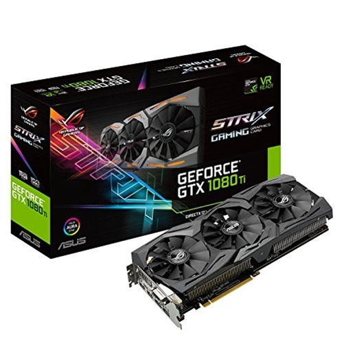 Asus ROG Strix GeForce GTX 1080 Ti 11GB GDDR5X Graphics Card