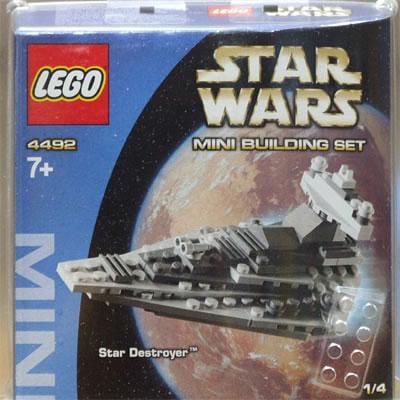 Star Wars Mini Building Sets MINI Star Destroyer Set LEGO 4492