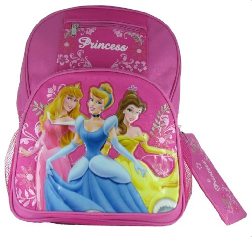 Disney Princess Large Backpack With Pencil Case