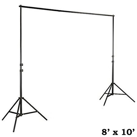Efavormart 8ft x10ft Heavy Duty Pipe and Drape Kit Wedding Photography Backdrop Stand - Pvc Pipe Backdrop
