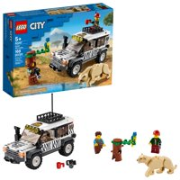 LEGO City Safari Off-Roader 60267 Building Kit for Kids (168 Pieces)