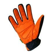 Missing Link Communique Visability Gloves Black, Hi-Viz Orange CGG