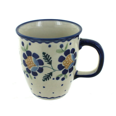 Ceramic Pottery Mug - Polish Pottery Sunflower Coffee Mug