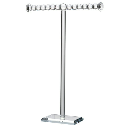 Sports Strand Necklace - A&B Home 1-Tier Brinley Necklace Stand, Tall