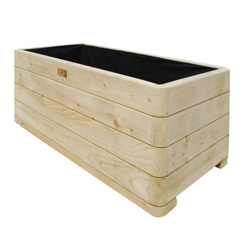 Rowlinson Wood Planter Box Walmart Com