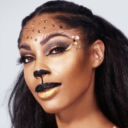 lion halloween makeup collection