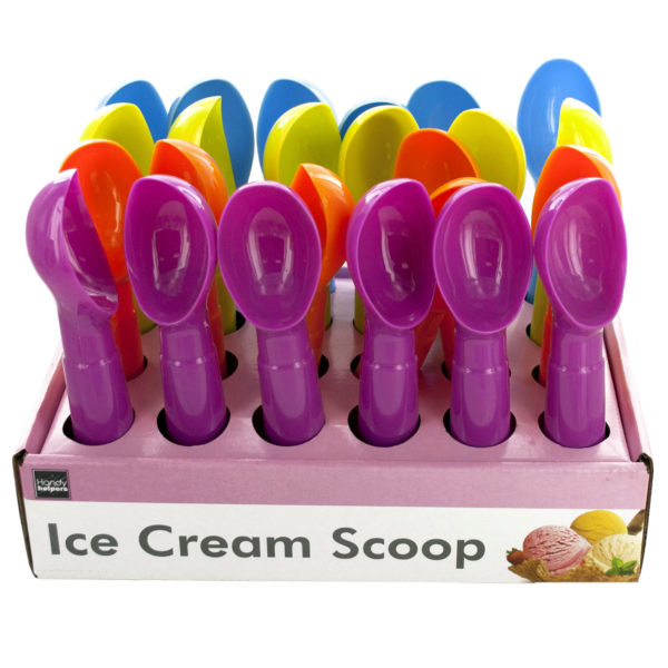 Plastic Ice Cream Scoop Countertop Display (Case of 48 )