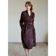 Organic Cotton Velour Robe chocolate - xxs