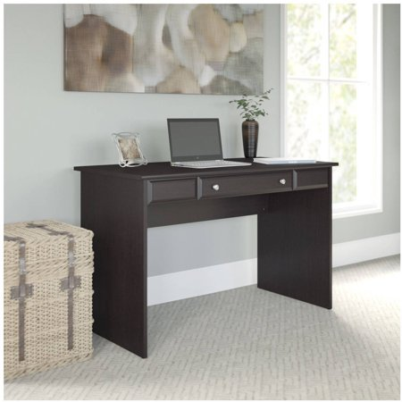 Bush Furniture Cabot Collection 48W Writing Desk, Espresso Oak Bush Furniture Oak Desk