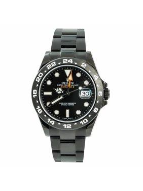 Pre-Owned Rolex Explorer Ii 216570 Pvd  Watch (Certified Authentic & Warranty)