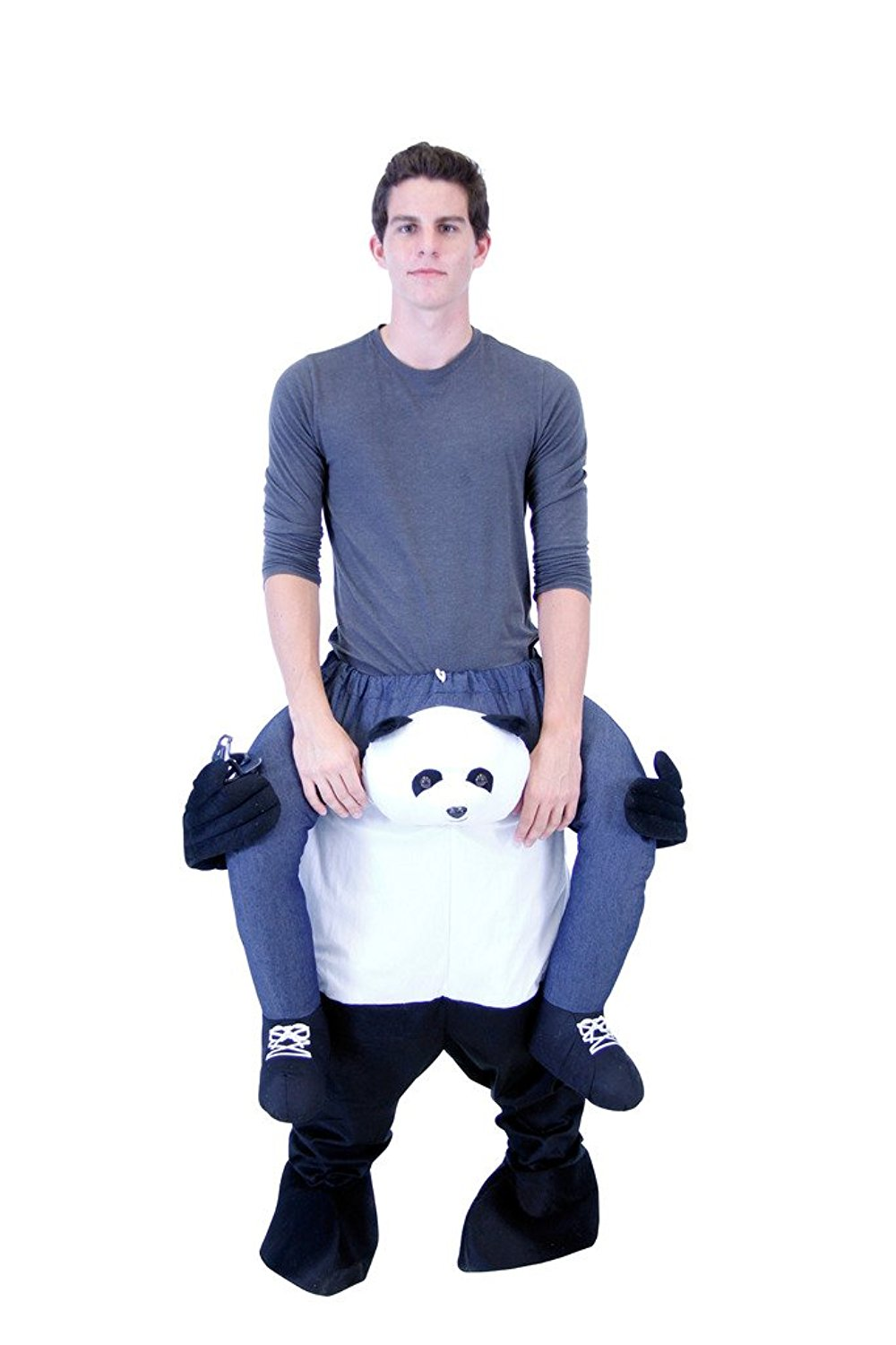 Piggyback Ride On Adult Panda Costume  sc 1 st  Walmart & Panda Costumes