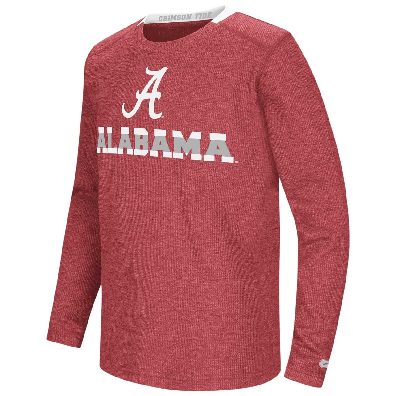 Alabama Crimson Tide Youth NCAA Steff Long Sleeve T-Shirt  - Team Color