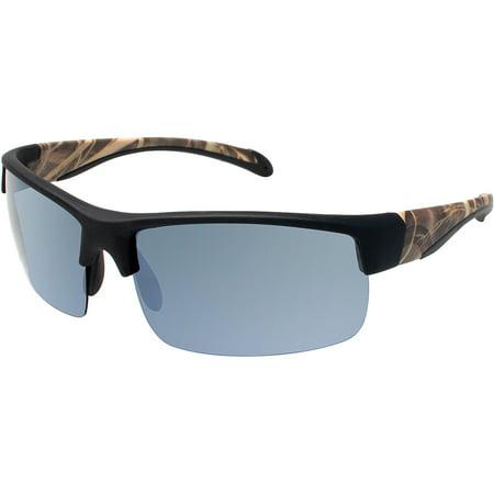 RealTree Men's Sunglasses, Black