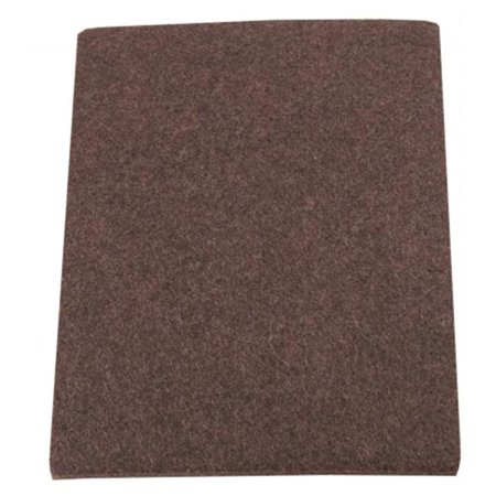 2 Count 4-.50in. X 6in. Brown Soft Touch Self Stick Felt Bl - image 1 of 1