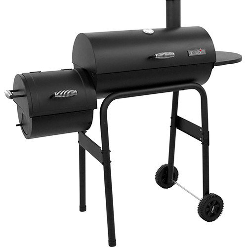 Char-Broil 300 Series American Gourmet Offset Charcoal Grill & Smoker