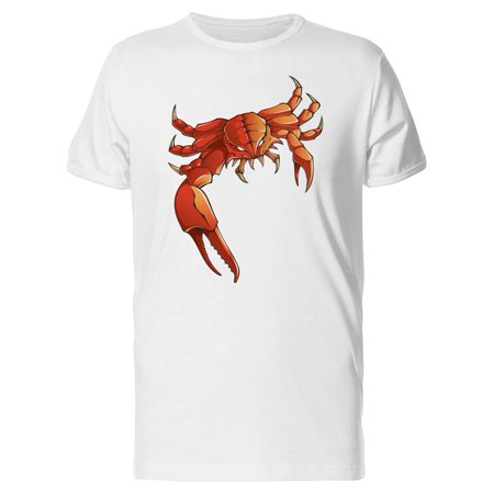 Demonic Crab With Huge Claw Tee Men