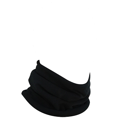 Zan Headgear Neck Gaiter Microfleece, Black by Zan Headgear
