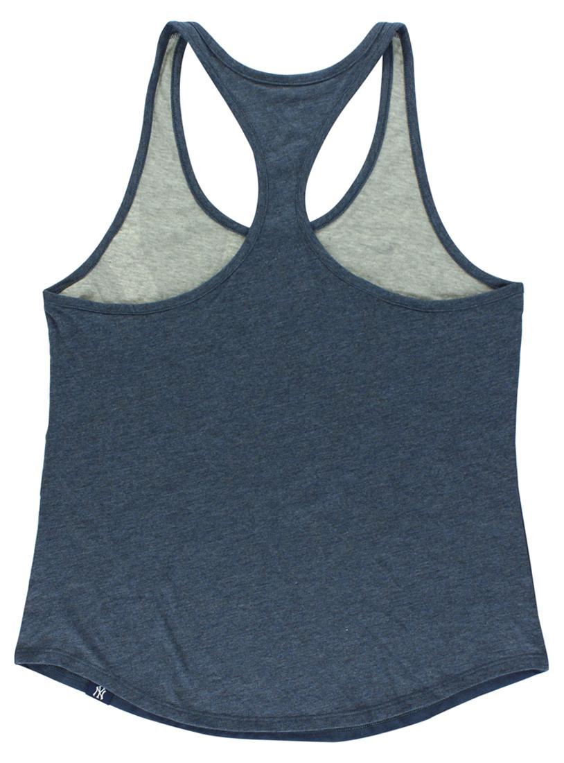 20d14a3900aedd Women s Nike Navy New York Yankees Tri-Fade Tank Top - Walmart.com